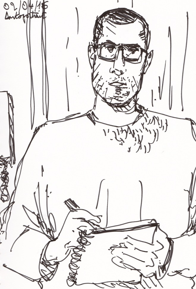 Autoportrait 020416